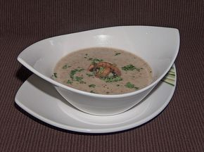 Champignon-Creme-Suppe 1