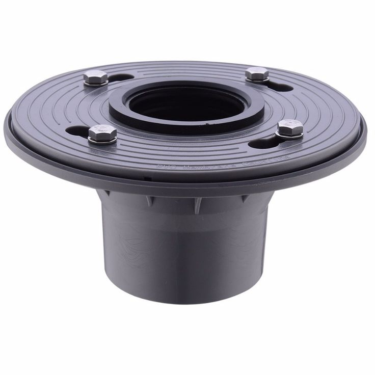 2 Inch Pvc Shower Drain Base With Rubber Gasket Shower Drain