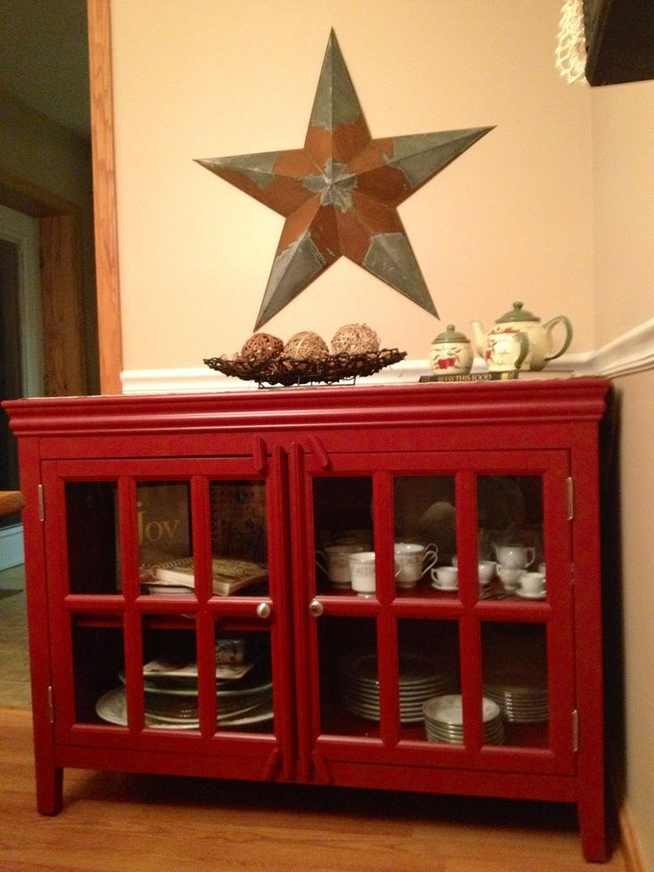 Captivating Red Hutch!!! :)