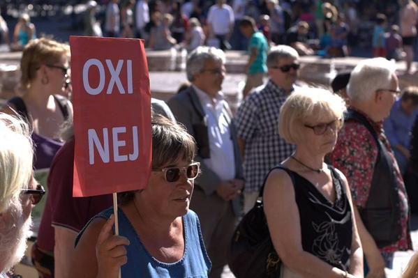 Γλασκόβη, Κοπεγχάγη, Πάδοβα, Σεβίλη.Η Ευρώπη της αλληλεγγύης. Η Ευρώπη μας. #ΟΧΙ #Δημοψήφισμα #dimopsifisma #oxi2015  Via Twitter