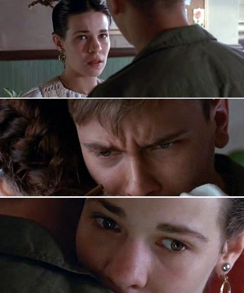 River Phoenix and Lili Taylor in Dogfight (1991)-- my all time favorite movie! best love story ever!