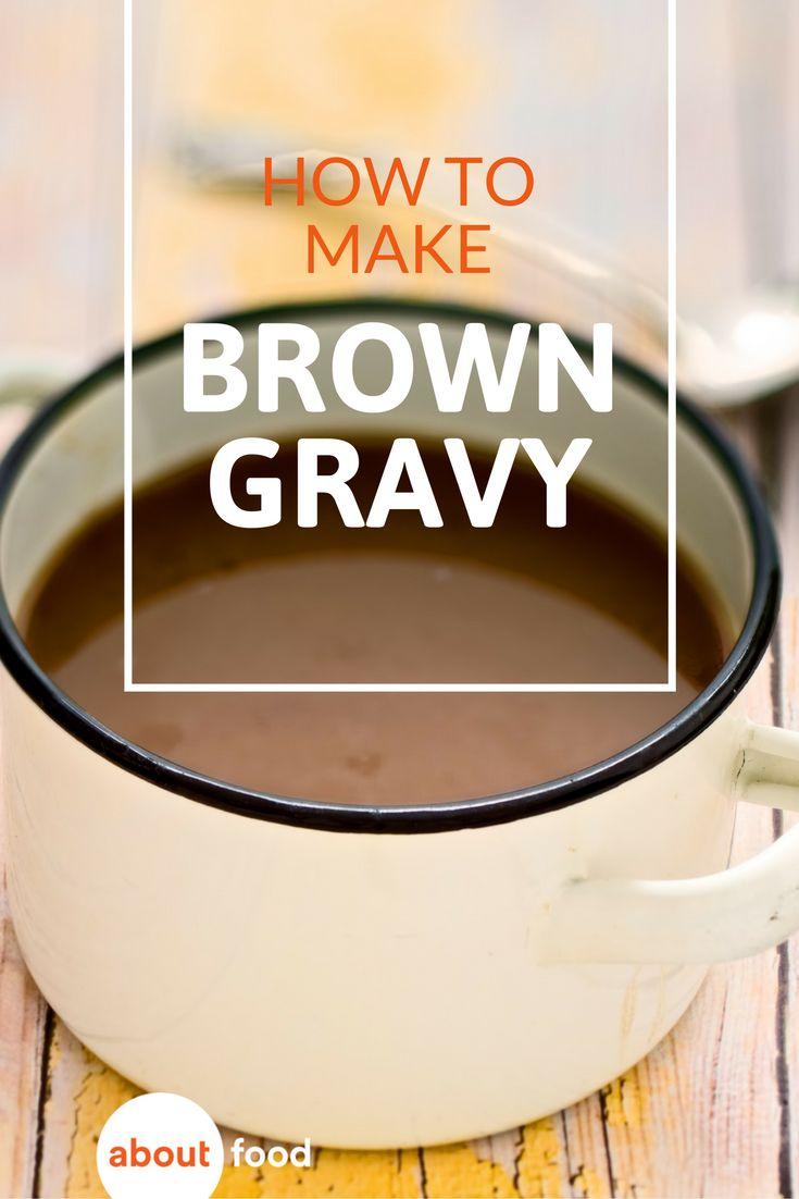 How to make a simple brown gravy