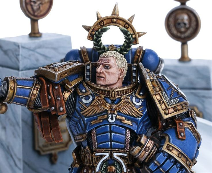 how to use triumvirate of the primarch with ultramarines