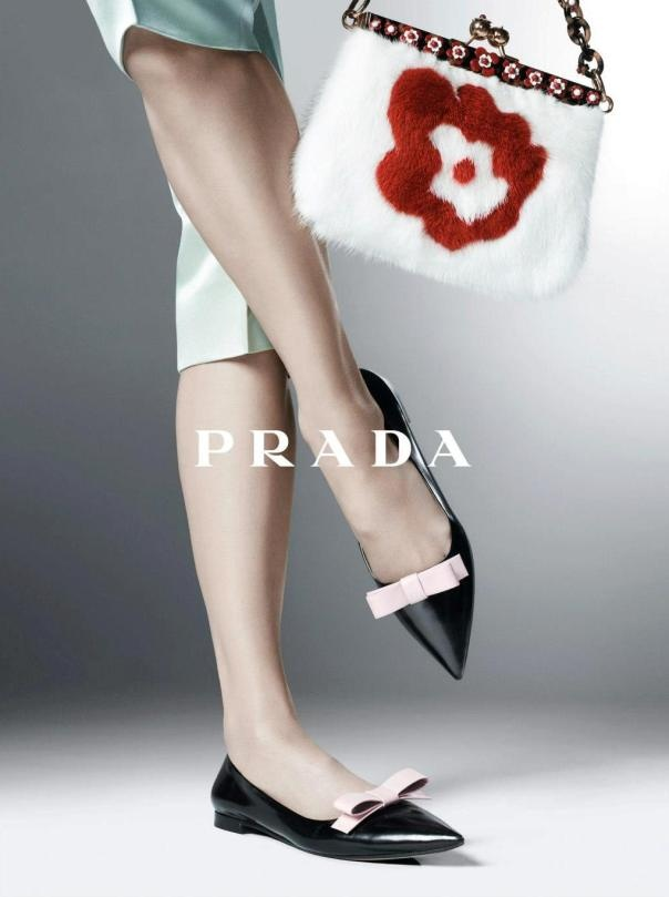 Prada campaign, S/S 2013. Photo by Steven Meisel.