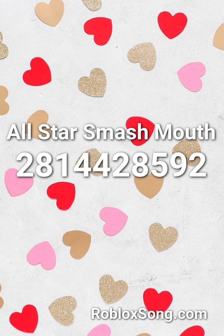 All Star Smash Mouth Roblox Id Roblox Music Codes In 2020