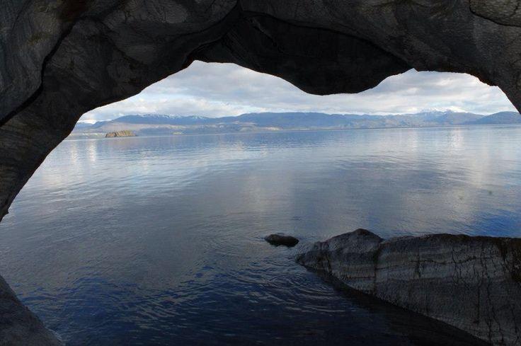 Capillas de mármol, Aysén, Chile #reflejos #lake #puertotranquilo #paisajes #chile