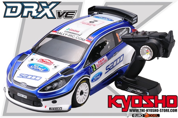 kyosho drx ve ford fiesta s2000 4wd readyset ep rc. Black Bedroom Furniture Sets. Home Design Ideas
