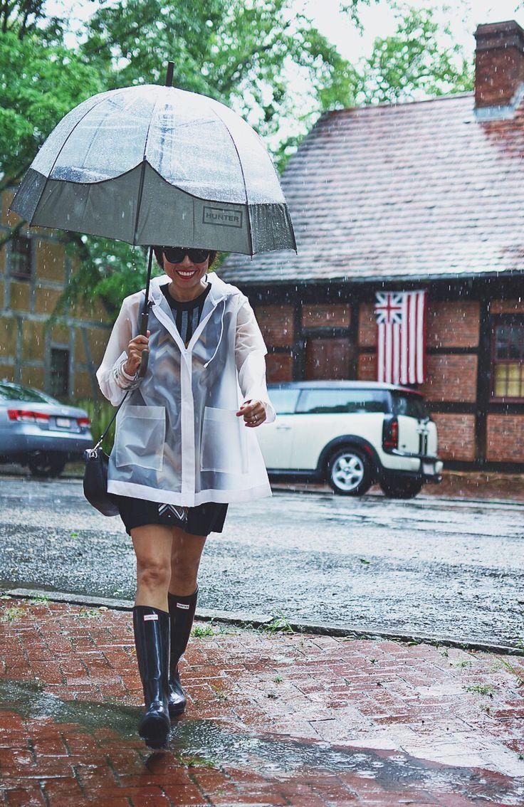 Summer rain attire. @hunterboots #hunterboots