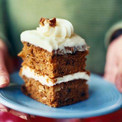 Pumpkin-Carrot Cake - Healthy Pumpkin Recipes - Health.com