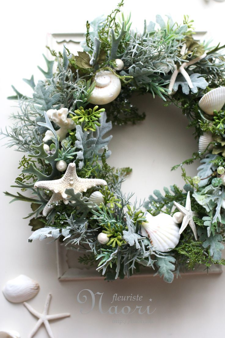 Modern wreaths for front door - Indulge In Some Mermaid Vibes With This Gorgeous Wreath For Your Front Door