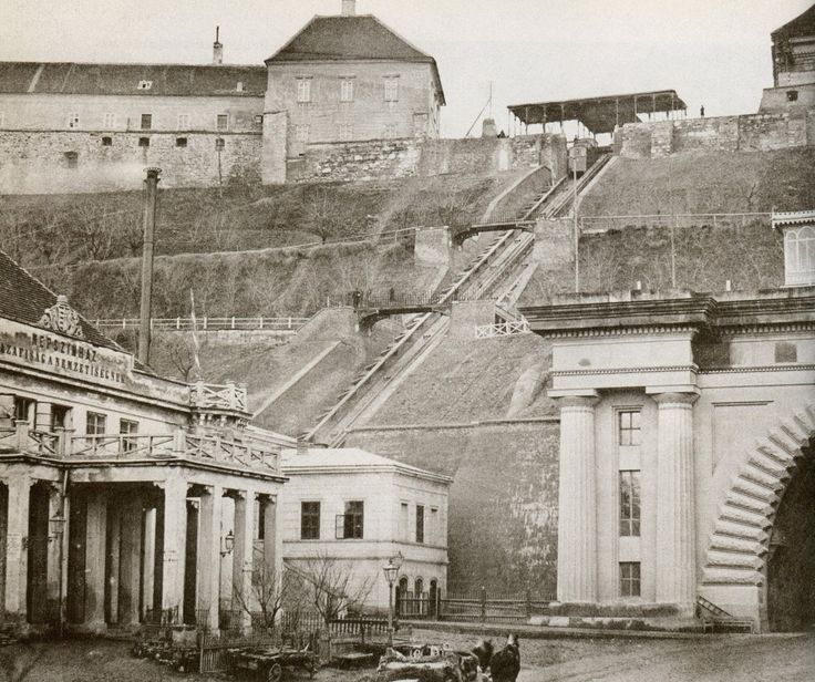 1870   ::Budapest, Hungary   Funiculáre