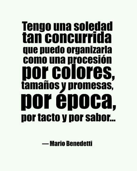 #MarioBenedetti