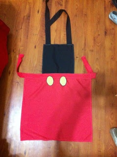 Disney Princess inspired apron