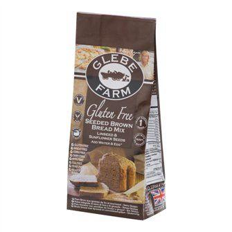 Směs na chléb tmavý se semínky bezlepková 375g GLEBE FARM aff#