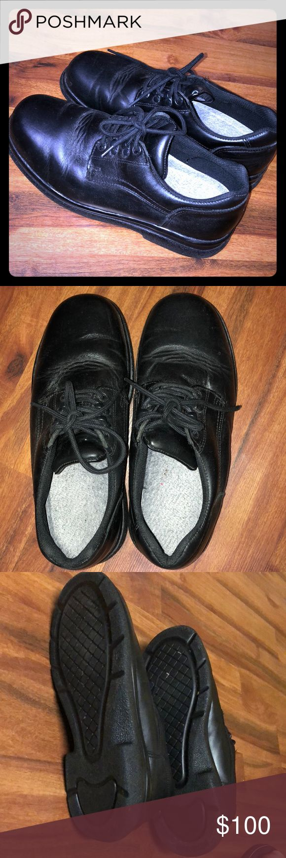 Red Wing Shoes Black laced Red Wing shoes. Excellent condition! - No flaws.  •ALL of my proceeds go to my son who is sick.•   🔴My prices are BEYOND fair. Please do not lowball me.🔴 Red Wing Shoes Shoes Oxfords & Derbys