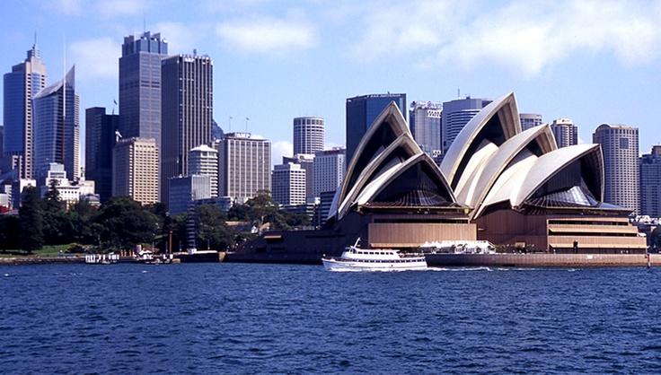Sydney et son célèbre opéra.