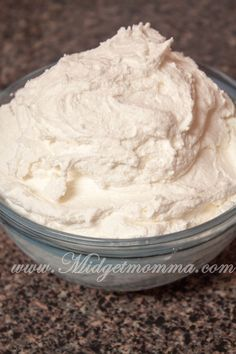 Homemade bakery buttercream frosting
