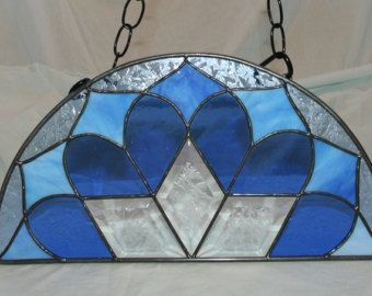 40 Best Images About Stained Glass Half Moon Windows On Pinterest Peacocks Arches And Arch