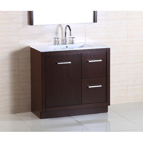 "Found it at Wayfair - 36"" Single Sink Vanity Set"