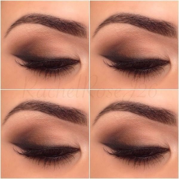 Subtle everyday smokey eye ❤ liked on Polyvore featuring beauty products, makeup and eyes