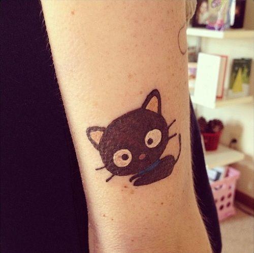 Chococat Tattoo Sanrio Ink Kawaii Tattoos