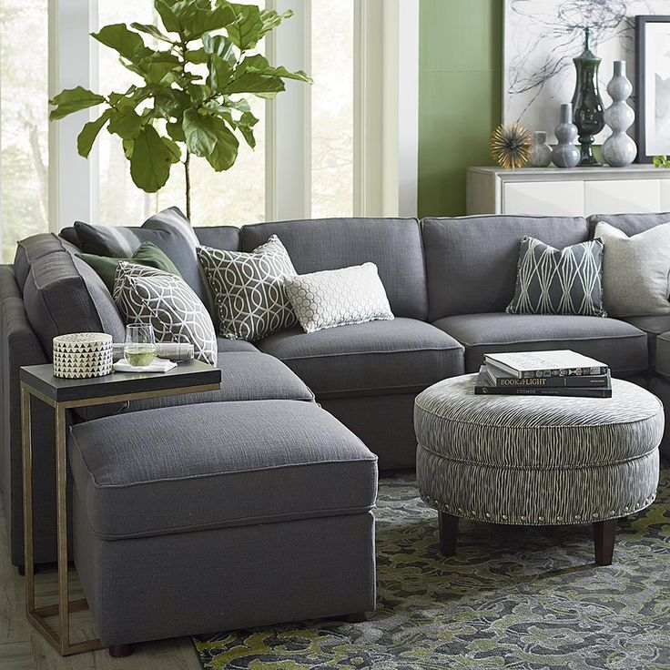 25 best ideas about u shaped sectional on pinterest u shaped sectional sofa u shaped couch for Bassett living room u shaped sectional
