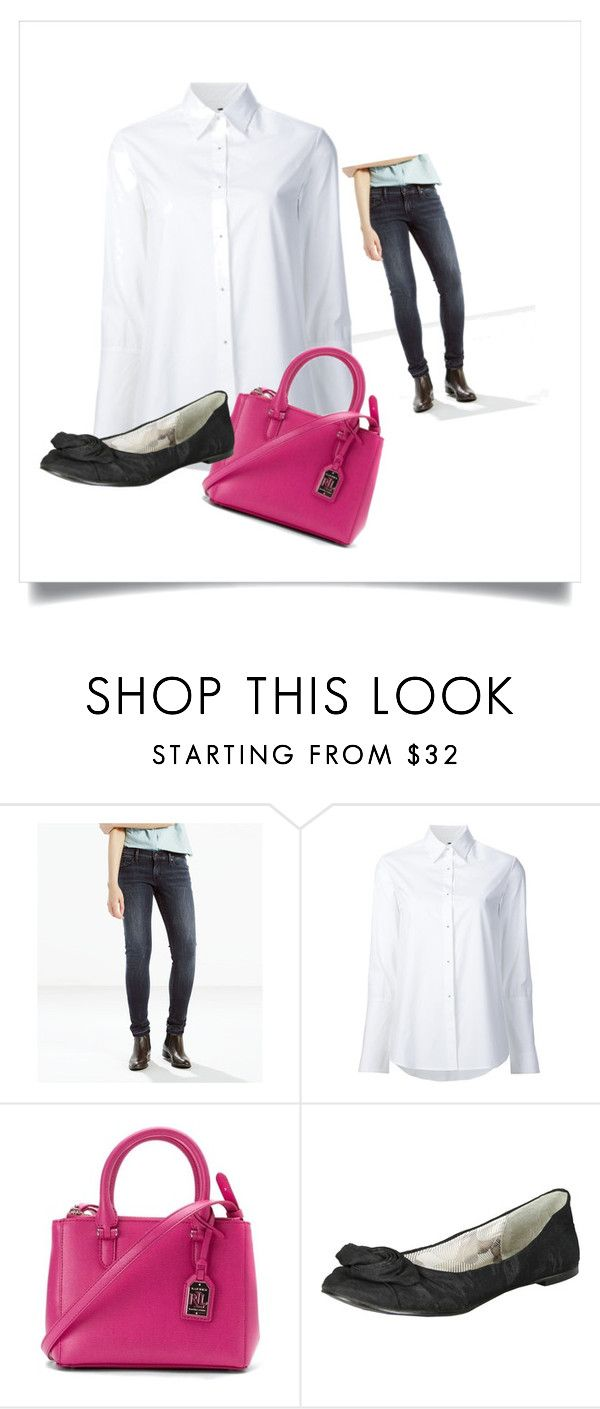 """""""Casual Friday"""" by lyn-mowles on Polyvore featuring Levi's, Misha Nonoo, Ralph Lauren and Qupid"""