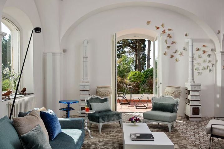 Villa Il Barone, luxury holiday villa with pool in Capri
