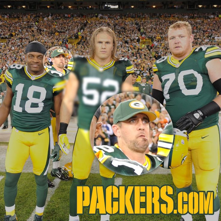 Nice one from Photobomb Master Aaron Rodgers.