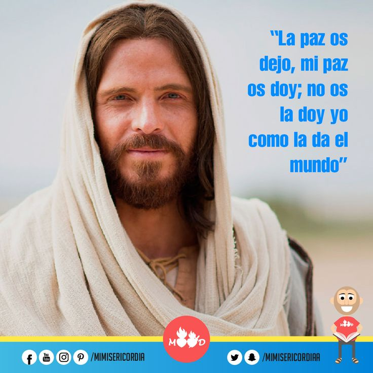 """""""La paz os dejo, mi paz os doy; no os la doy yo como la da el mundo"""". (Jn 14, 27-31a)"""