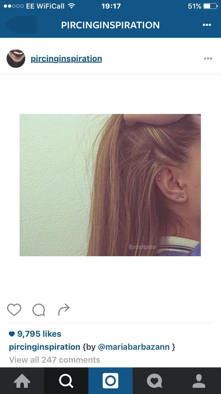 Re piercing nose scar tissue   best Piercings images on Pinterest  Piercing ideas Earrings