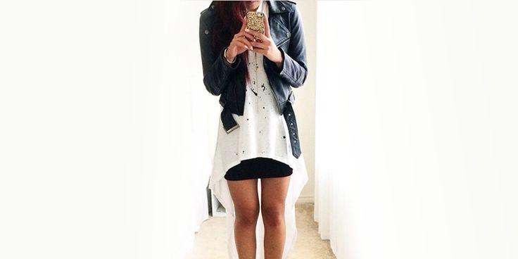 14 Outfits con minifalda coquetos y lindos para la escuela