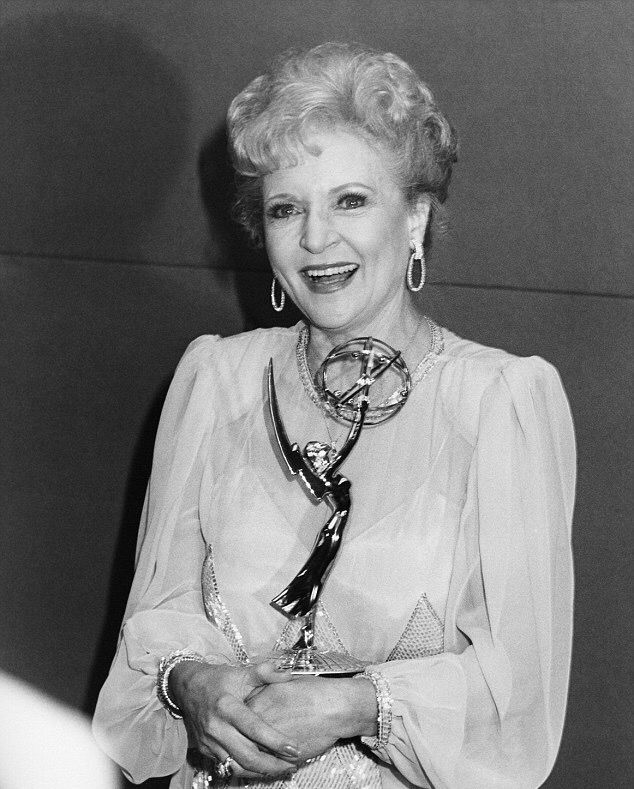 Betty White in Black and White...