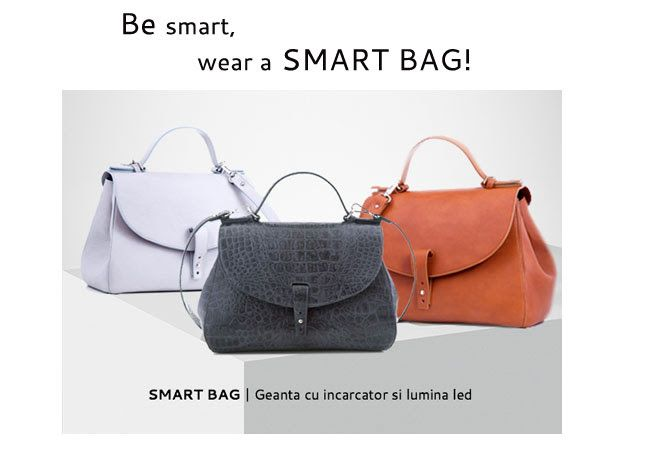 Dotată cu încărcător pentru gadget și lumină LED, geanta smart bag este, fără doar și poate, ultimul trend în materie de genți. Creată special pentru femeia modernă, pasionată de tehnologie, geanta smart bag poate fi a ta, indiferent că vei alege un model în culori pastelate sau vibrante.  Detalii despre acestea, pe www.YVYBags.ro  #SmartBag #innovationbyYVYBags   #ChargerAndLightInside #loveYVYBags #leatherhandbags #YVYBagsfactory #loveourjob #clutch #fashion #bags #statement