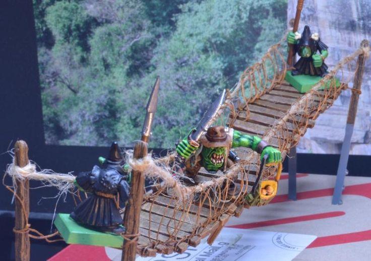 Bridge, Bridge. Temple Of Doom, Indiana Jones Ork By Midget Gems