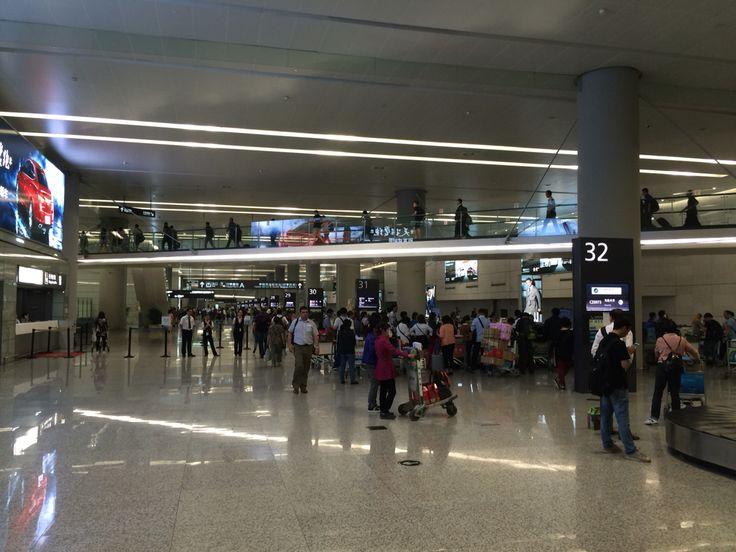 Shanghai Hongqiao Airport T2, 2015