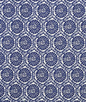 Covington Seabreeze Indigo Fabric - $14.85 | onlinefabricstore.net - love this, need to find a use for it