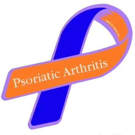 Psoriatic Arthritis ribbon