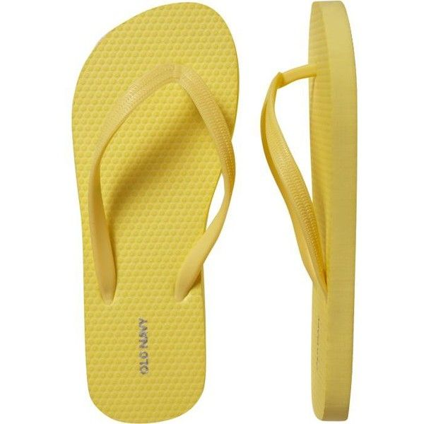 Old Navy Womens New Flip-Flops ($0.97) ❤ liked on Polyvore featuring shoes, sandals, flip flops, chinelos, old navy, women, flip-flop sandals, old navy shoes and old navy flip flops