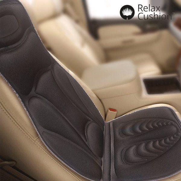 RELAX CUSHION THERMAL SHIATSU MASSAGE SEAT MAT - Geeks Buy Gadgets
