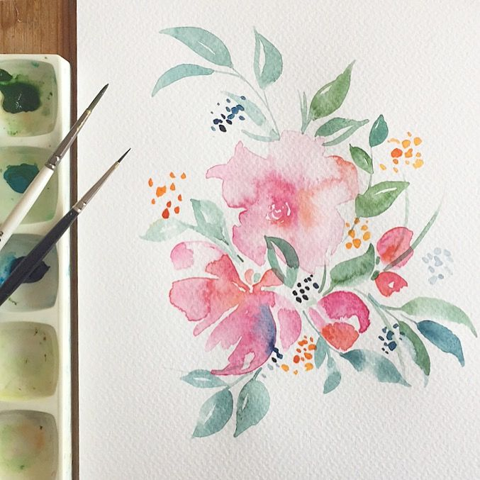 Hand painted watercolour wedding invitations. Blooms, blush, teal. Wedding trends 2018