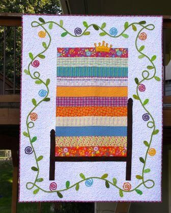 The Princess and the Pea quilt for Eloise