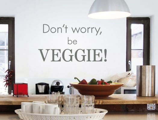 23 best Küchensprüche für Veganer als Wandtattoo images on Pinterest - Wandtattoos Für Die Küche