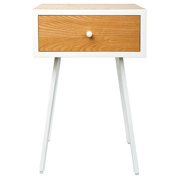 Studio Side Table - White