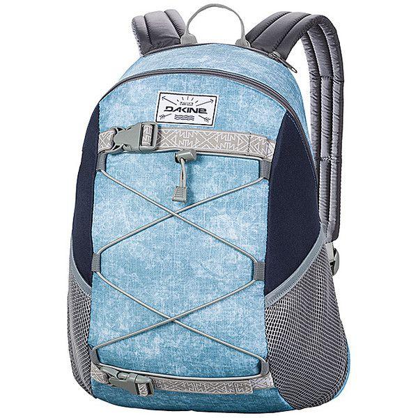 DAKINE Wonder Pack Backpack (€32) ❤ liked on Polyvore featuring bags, backpacks, blue, school & day hiking backpacks, strap backpack, dakine rucksack, mesh backpack, pocket backpack and dakine bag