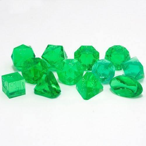 Gamescience Dice (Emerald GEM) | 12 Piece RPG Precision Dice Set