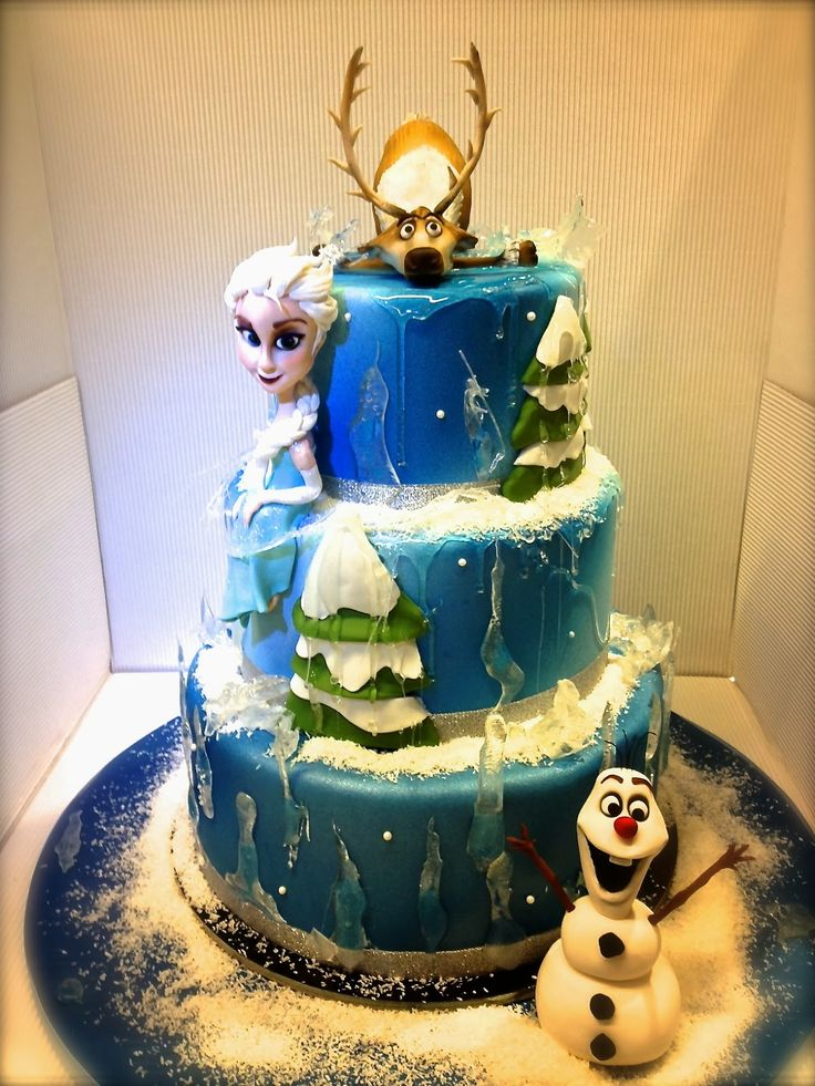 """""""Frozen"""" Cake (Exceptionally awesome, if it was an ice cream cake!!)"""