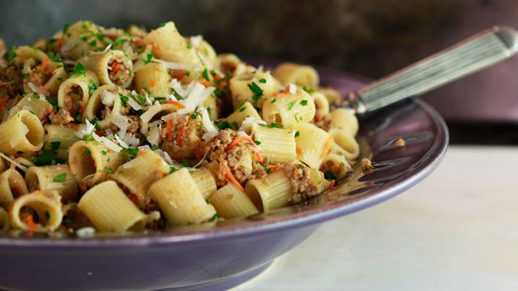 Rachael Ray - White Meat Sauce - If you love Bolognese, you'll love this sauce. ...