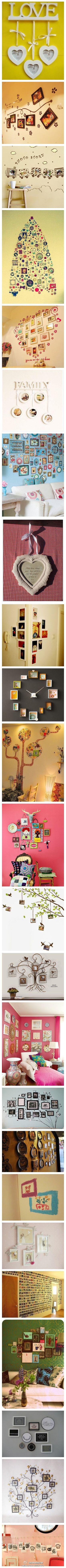 Wall deco ideas <3
