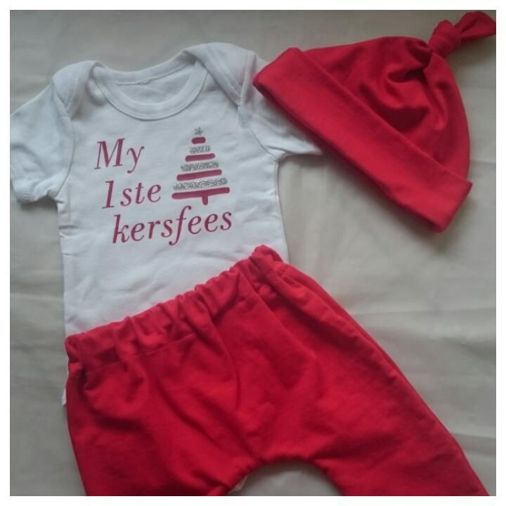 my eerste kersfees | 1st Christmas outfit | Christmas outfit baby